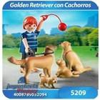 5209 PERRO GOLDEN RETRIEVERS CON CACHORROS - PLAYMOBIL