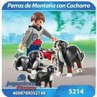 5214 PERRO DE MONTAÑA CON CACHORROS - PLAYMOBIL