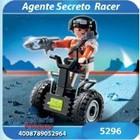 5296 AGENTE SECRETO CON RACER BALANCE - PLAYMOBIL