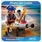 5413 PIRATA CON CAÑON - PLAYMOBIL