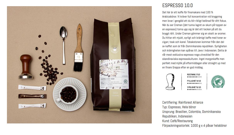 Original espresso 10