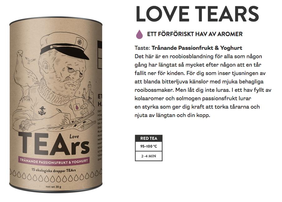 Original love tears