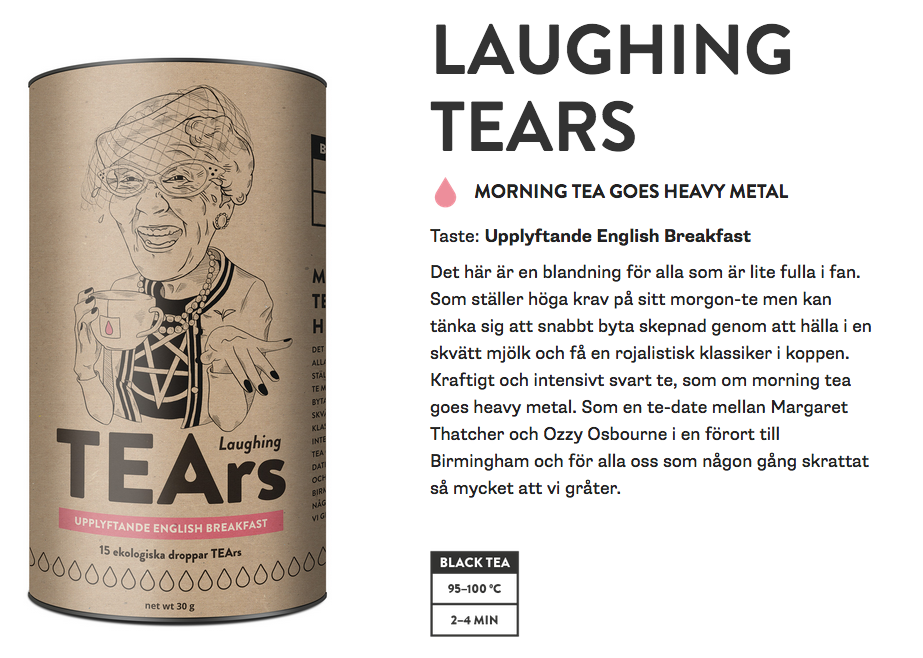Original laughing tears