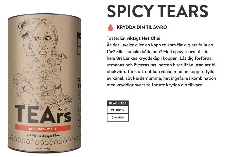 Original spicy tears