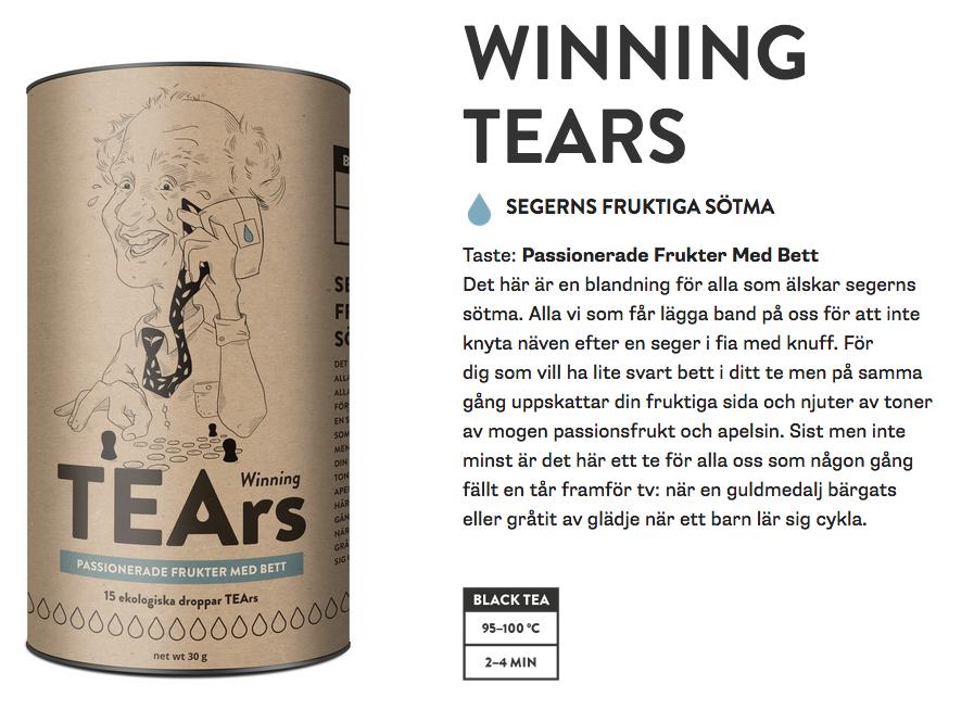 Original winning tears