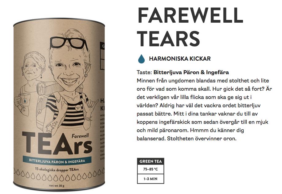 Original farewell tears