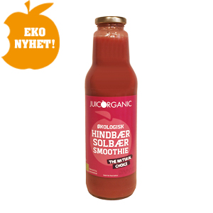 Original juicorganic hallon svartavinbar smoothie
