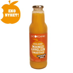 Original juicorganic mango smoothie