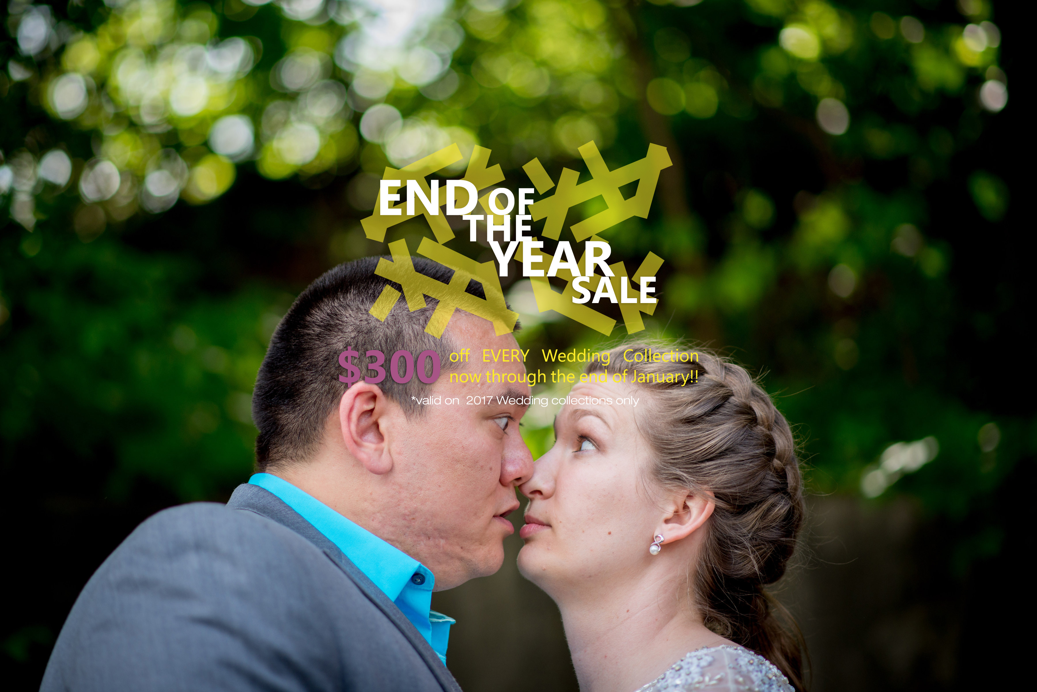 $300 off for 2017 couples!