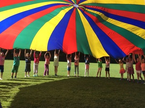 Gym parachute