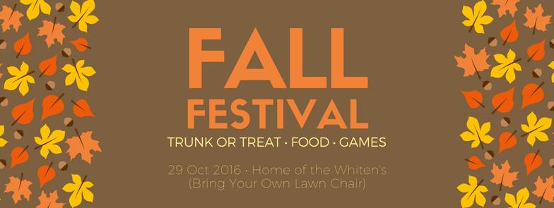 Fall Festival 2016