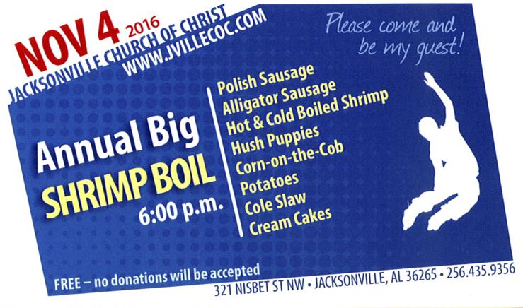 Annual Big Shrimp Boil