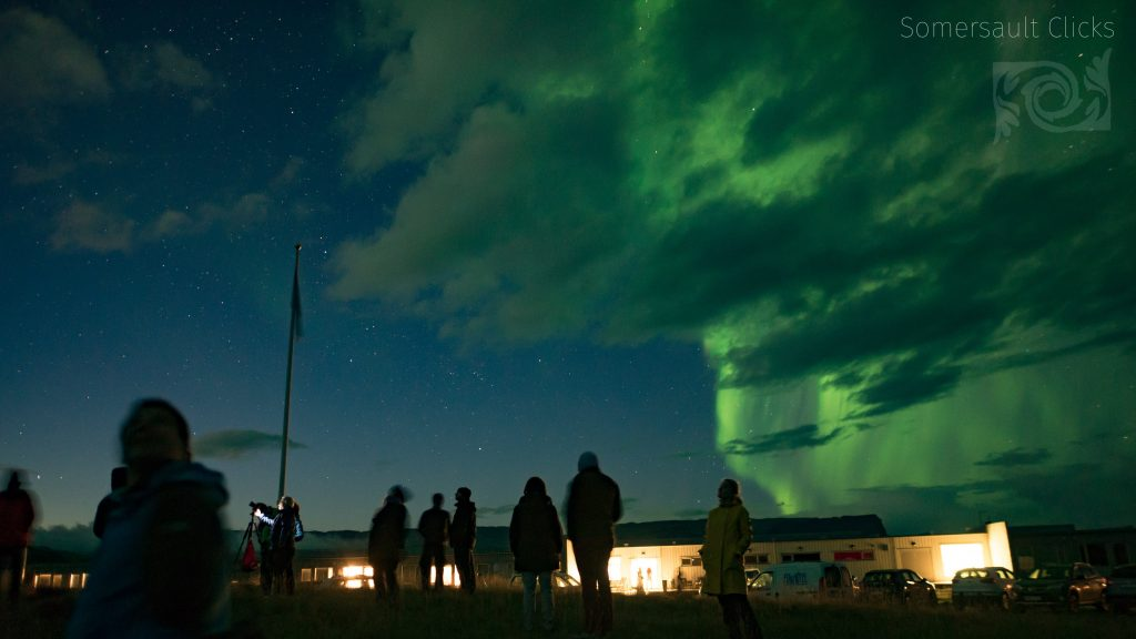 Watching the Northern Lights – Iceland – Fosshotel Núpar