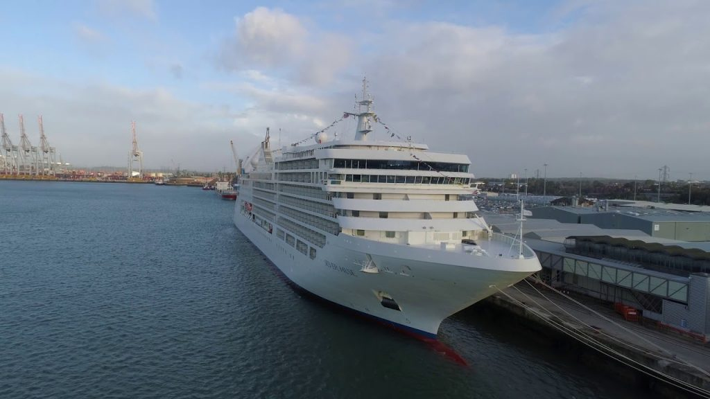 Silver Muse Inaugural Call To Southampton England September 11 2017