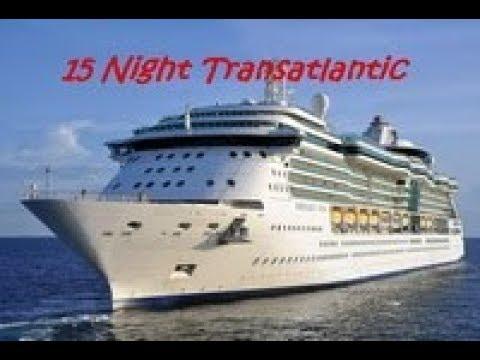 Serenade – 15 Night Trasatlantic – August 2017