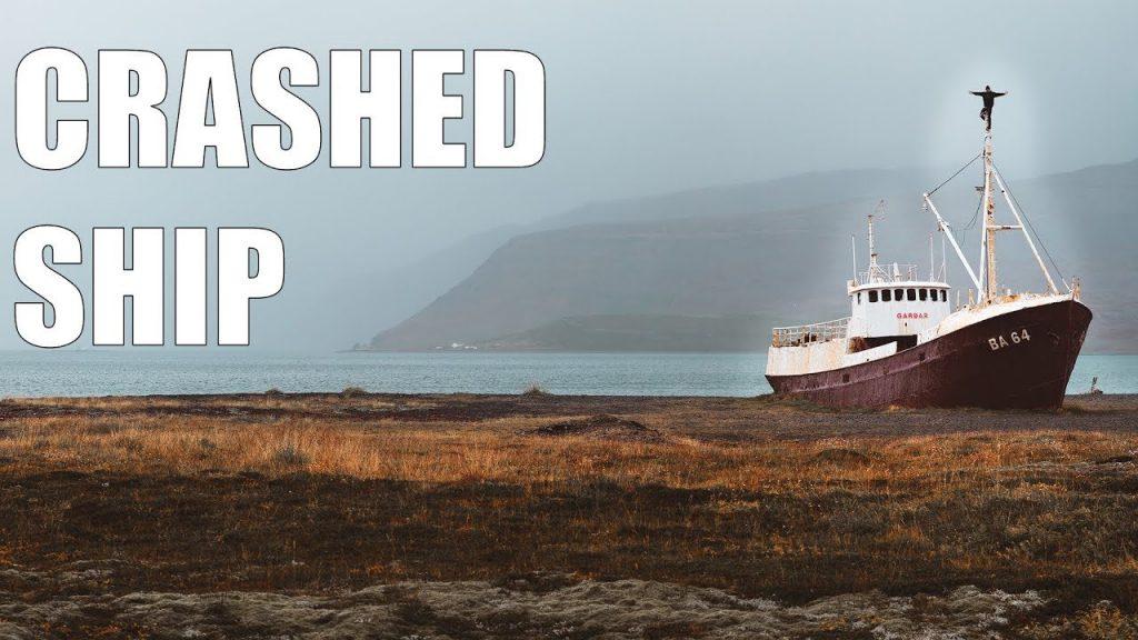 CRASHED SHIP | Abandoned Places | ICELAND EP 5