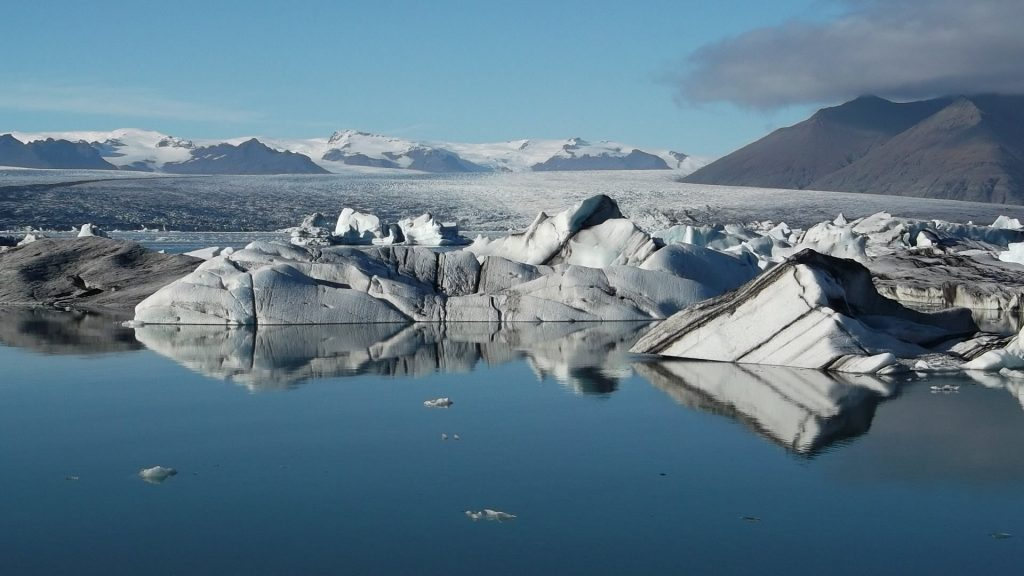 Awesome beauty of Iceland landscape