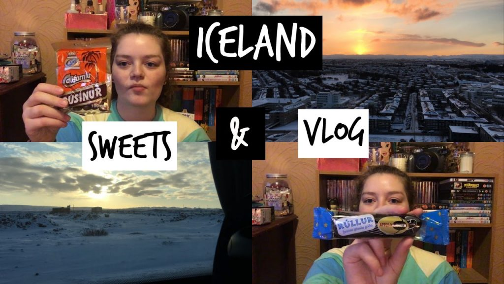 TRYING ICELANDIC SWEETS & VLOG | Charis Saunders