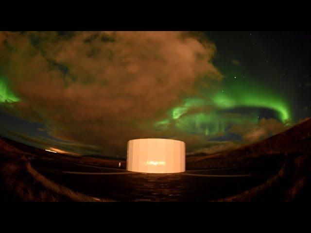 ICELAND Northern Lights on Viðey island! 1 October 2017