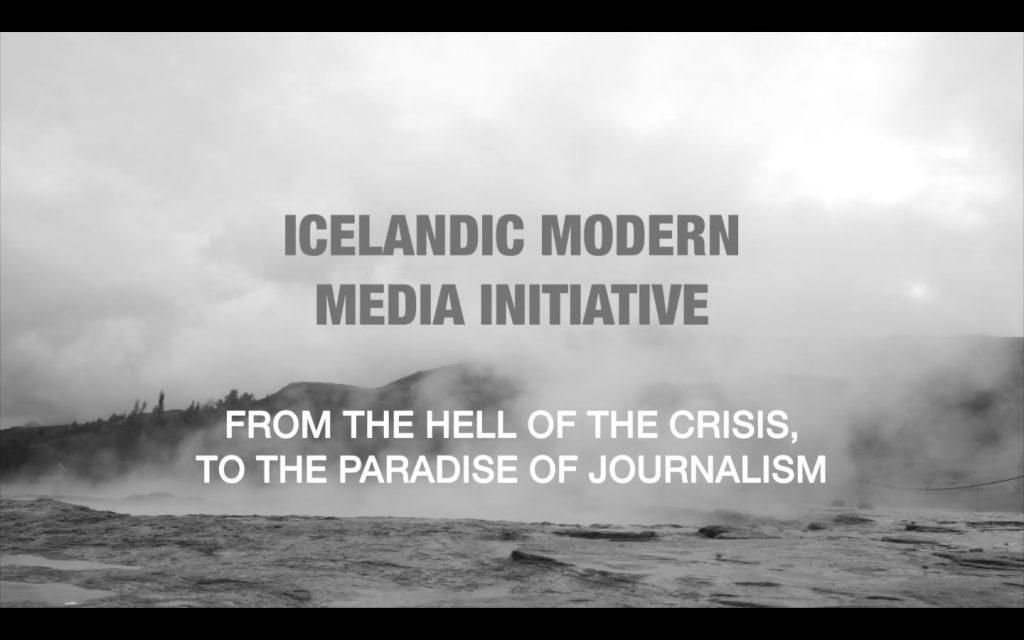 Icelandic Modern Media Initiative – Documentary by Paula Lázaro