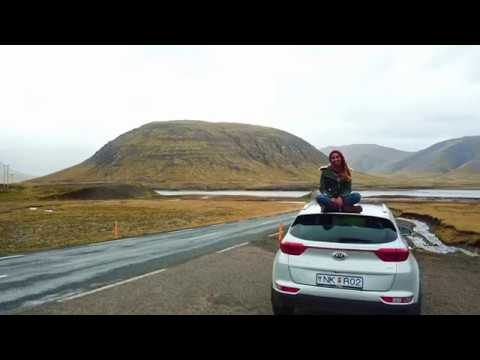 Road trip around Iceland – Minzgraphy