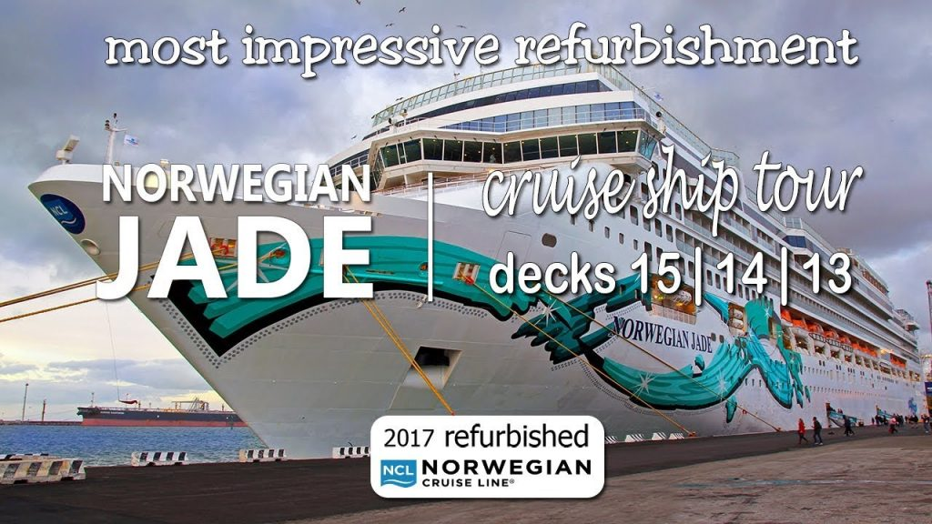refurbished Norwegian Jade video tour decks 15 | 14 | 13  DJI Osmo+ 2,7K
