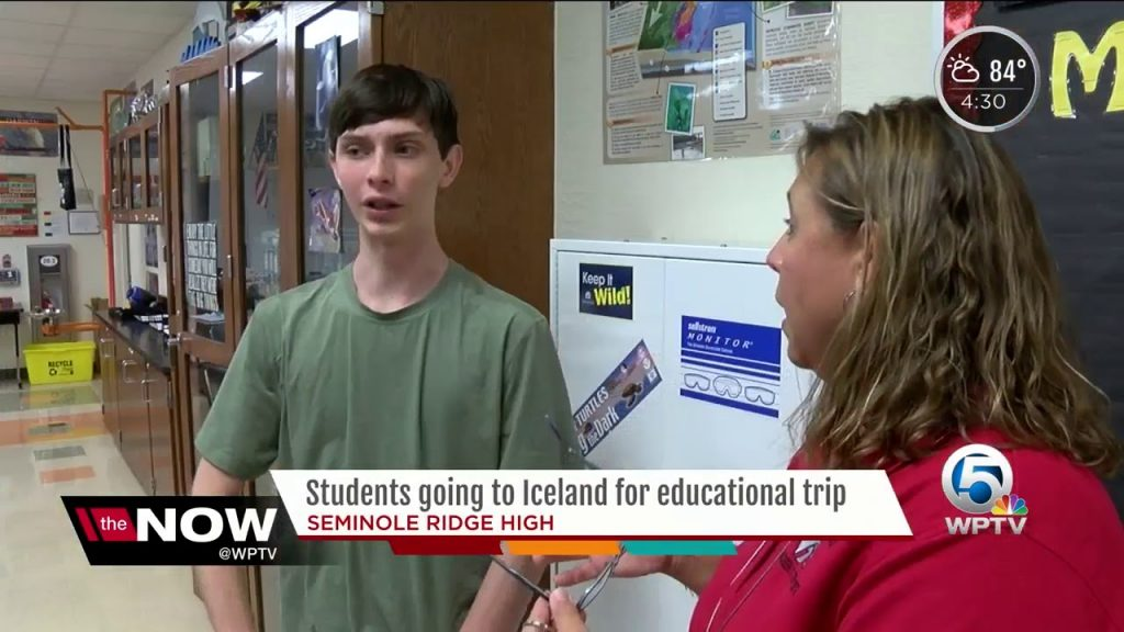 Students to travel to Iceland