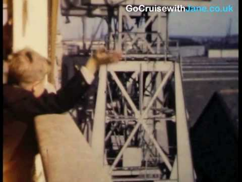 Go Cruise with Jane. Cruising in the 1950's P&O Cruises Arcadia