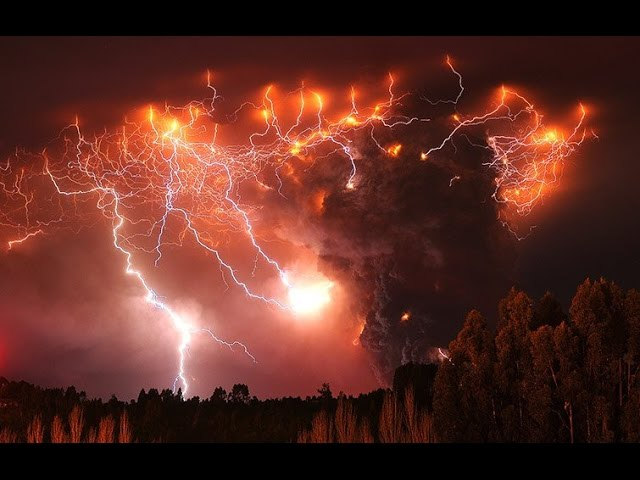 10 Most Shocking Volcanic Storms – INTENSE WEATHER