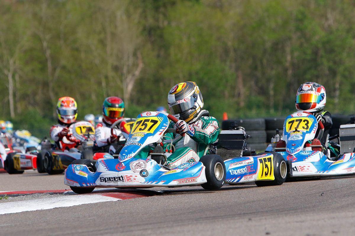 Gonzalez leads Arseneau in X30 Junior