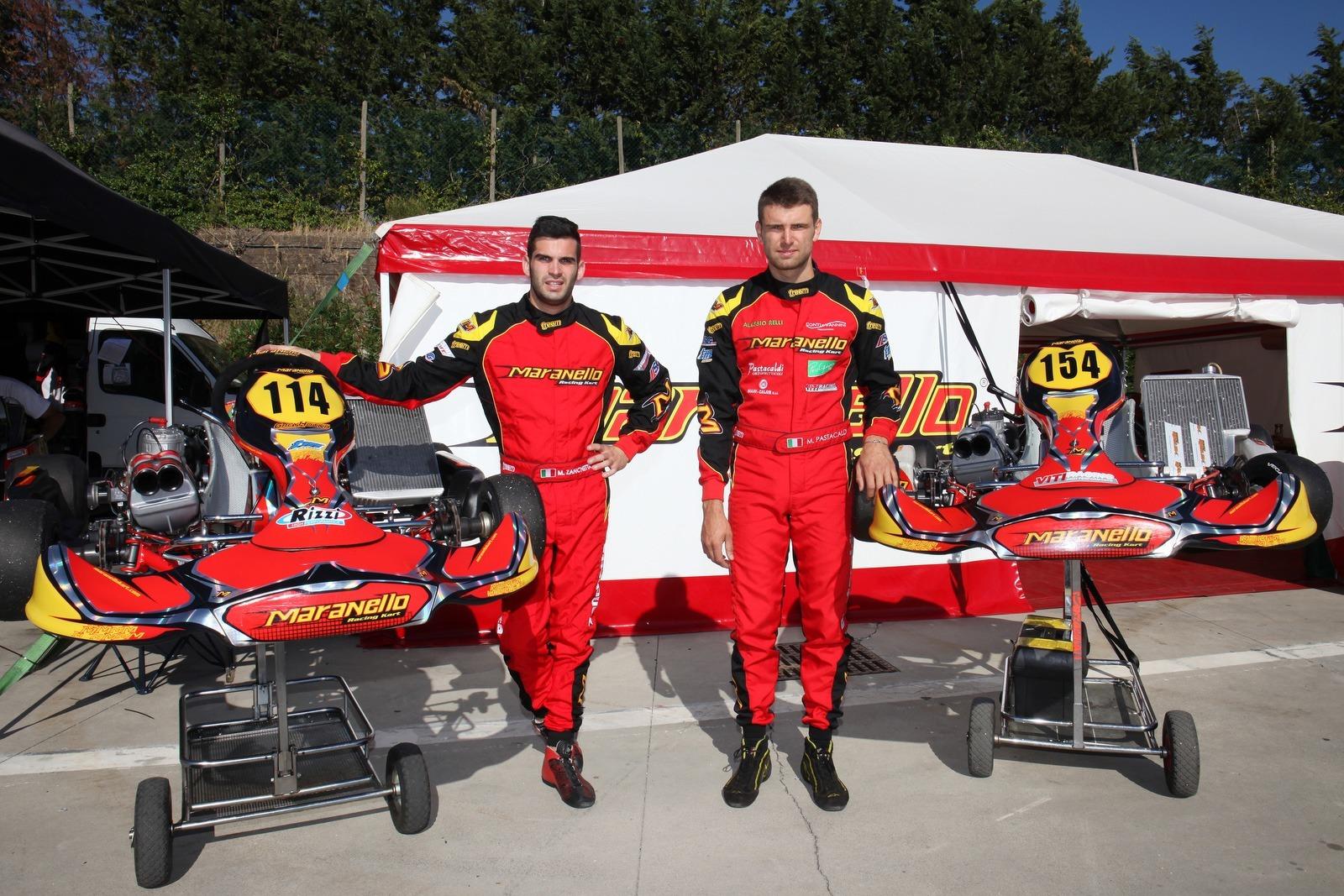 Marco Zanchetta and Marco Pastacaldi, KZ2