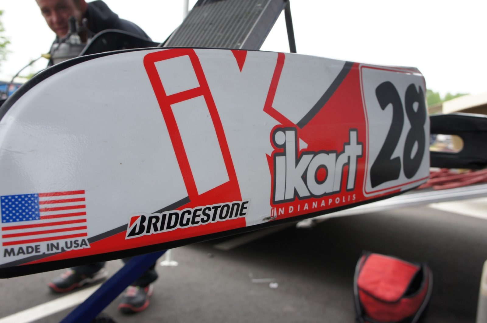 iKart side pod and graphics