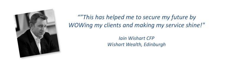 Iain Wishart Testimonial