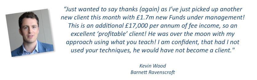 Kevin Wood Testimonial