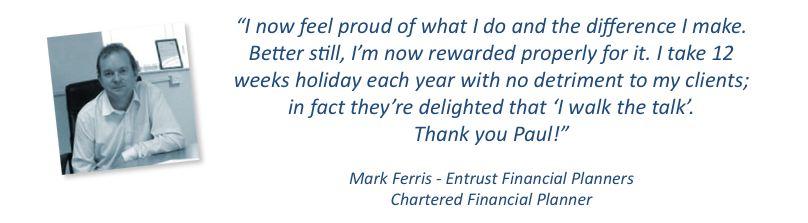 Mark Ferris Testimonial 1