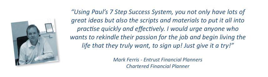 Mark Ferris Testimonial 2