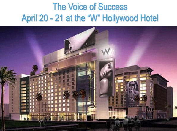 April 20-21 at the W Hollywood Hotel