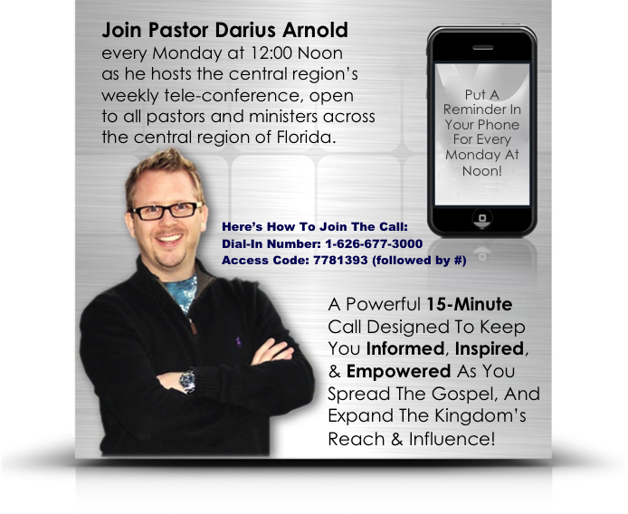 Central Region's Weekly Call!