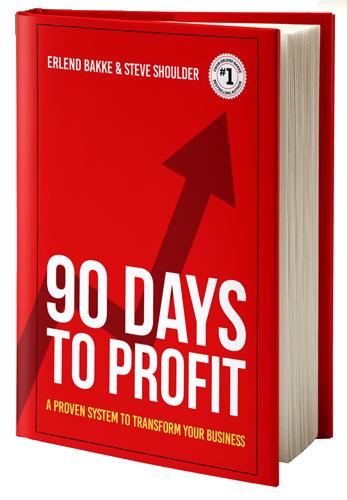 90 Days to Profit Book