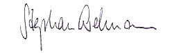 Stephan Erdman Signature