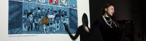 Experimental Comics Exhibition in Belgium