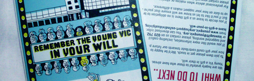 The Young Vic, Drawing Dead Things and Graphic Medicine