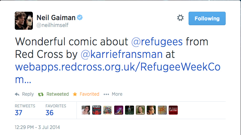 Neil Gaiman Tweet 2