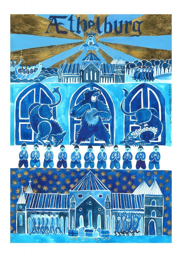 Athelberg- medieval comics