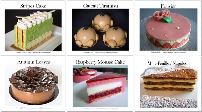 Keiko's Cake Guides