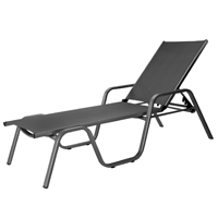Aluminum patio furniture aluminum chaise lounge stack for Chaise kettler
