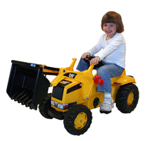 CAT KID TRACTOR W/TRAILER