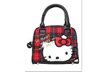 Hello Kitty satchel bag, $26, Torrid.com