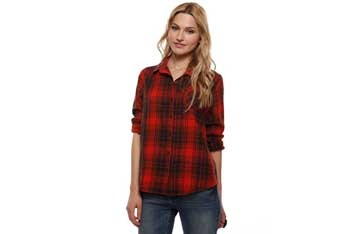 Classic plaid shirt, $19.90, Forever21.com