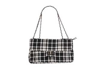 Tweed shoulder bag, $22.80, Forever21.com